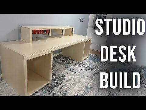 Building The Ultimate Studio Desk