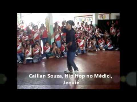 Caillan Souza dança HIP HOP no C.E.Presidente Médici, Jequié