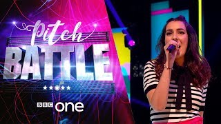 Pitch Battle website: http://bbc.in/2tspn3j All the showstopper performances from tonight's show.00:05 Believer by Imagine Dragon (Tring Park 16)01:38 Motown The Musical Medley (Crescendo)03:20 Send My Love (To Your New Lover) by Adele (Vocalities)04:51 Shape of You by Ed Sheeran (The Ramparts)06:31 Rihanna Medley (Oxford Alternotives)08:10 Barcelona by Freddie Mercury and Montserrat Caballé (VOX-XOVER)