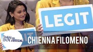 Chienna reveals that she underwent plastic surgery | TWBA