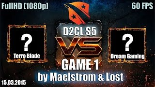 DG.cn vs TB, game 1