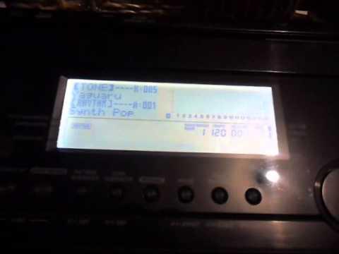 EDICIONES EN TECLADO CASIO WK 7500 (видео)