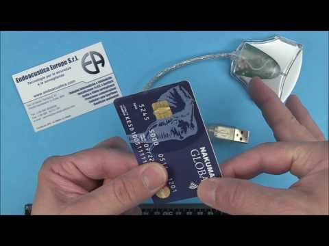 Microregistratore audio a forma di CARTA DI CREDITO | CREDIT CARD audio recorder