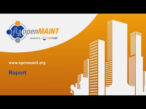 openMAINT: Report