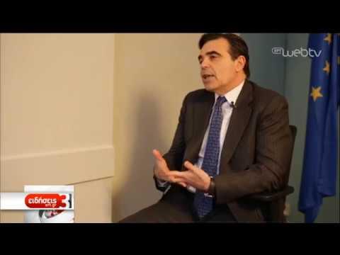 Ο Μαργαρίτης Σχοινάς μιλά στην ΕΡΤ και την Ευδοξία Λυμπέρη για το Brexit | 14/03/19 | ΕΡΤ