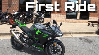 2. 2019 Kawasaki Ninja 400 First Ride/Review