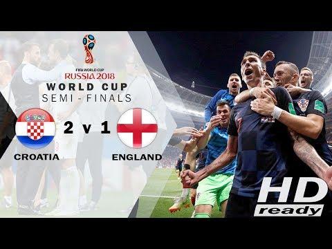 Croatia vs England 2-1 | Gol Extra Time Mandzukic Bawa Kroasia ke FINAL!!! - Highlights 12-07-2018