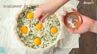 Torta Pasqualina (aux épinards et à la ricotta)
