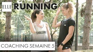 Candice Anzel du blog « Family-deal.com » a pour objectif de courir les 10 km de la course à pied « ELLE Run ». Seul problème, elle n'a pas fait de sport de depuis des années. Pendant deux mois, elle va alors s'entraîner avec Marine Leleu, sportive émérite arrivée seconde à l'Ironman en 2015. Voici la cinquième séance de coaching.Abonnez-vous à la chaîne ELLE : http://bit.ly/YouTubeELLERetrouvez ELLE, le magazine féminin de la mode, de la beauté et de toute l'actualité des femmes sur : Elle.fr : http://www.elle.frElle Vidéo : http://videos.elle.frFacebook : https://www.facebook.com/elleTwitter : https://twitter.com/ELLEfrancePinterest : http://www.pinterest.com/magazineellefr/REMERCIEMENTS :Marine Leleu Instagram : https://www.instagram.com/marinlle/?hl=frYoutube : https://www.youtube.com/channel/UCqK1waQtKyHfjEEtMfxvudgCandice AnzelFaceboook : https://www.facebook.com/mamanimparfaites/Site : http://www.family-deal.com/Insta :  candice_mamgyverProduction : LEDCopyright : ©ELLE 2017