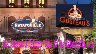 Chef Gusteau's Talking Video On The Ratatouille Ride Disneyland Paris 2015