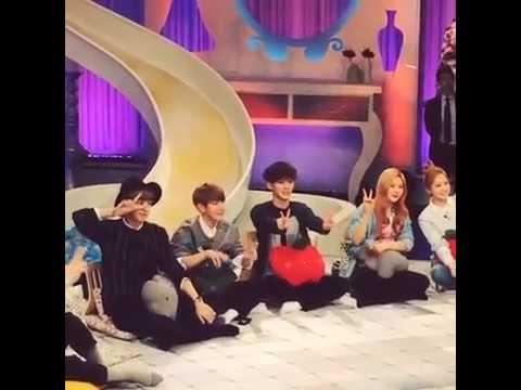 [fancam][150405] Joy & Yeri At Hello Counselor Recording