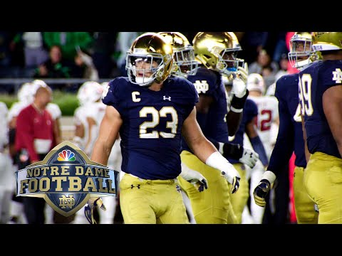 Video: Notre Dame linebacker Drue Tranquill on loving the grind of college football I NBC Sports