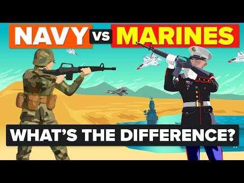 US Navy vs US Marines - What's The Difference & How Do They Compare? - Army / Military Comparison