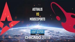 Astralis vs mousesports - IEM Chicago 2018 - map1 - de_train [SSW & Gromjke]