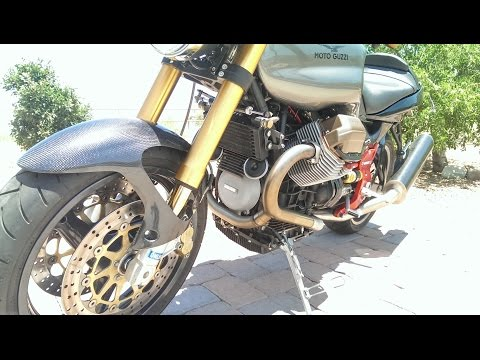 2003 Moto Guzzi V11   1st Startup