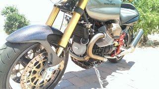 7. 2003 Moto Guzzi V11   1st Startup