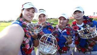 LPGA Tour - Day Four 2018 UL International Crown