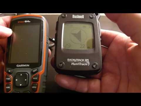 Видео Цифровой GPS компас трекер Bushnell Hunttrack