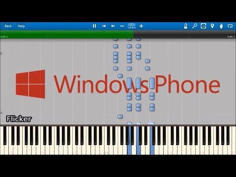 WINDOWS PHONE RINGTONES IN SYNTHESIA