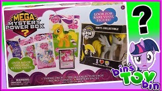 """Today we find out what exactly is inside the My Little Pony Mega Mystery Power Box.  Is it worth $20.00??  (We bought this at Walmart)SUBSCRIBE and never miss a video! http://www.youtube.com/subscription_center?add_user=BinsToyBinAbout Bin's Toy Bin →Adventures in toy collecting! Join husband and  wife team, Bin and Jon (and their son Teagan, too) as they review the latest (and sometimes not-so-latest) toys in their own unique way! Check back daily for new videos!  Also be sure to visit our 2nd YouTube channel for our Family Vlogs!MORE FUN TOY VIDEOS TO ENJOY ON OUR FAMILY-FRIENDLY PLAYLISTS:Starlight Glimmer Figure from My Little Pony: The Movie - https://www.youtube.com/watch?v=T1PWpZwzsI8&index=1&list=PLjr8-7syO5b0Li56ruLi8jw6DY_gpmdKRMLP Series 4 Trading Cards Opening - https://www.youtube.com/watch?v=iVhChgZZRNQ&index=8&list=PLjr8-7syO5b0Li56ruLi8jw6DY_gpmdKREnterplay MLP Dog Tags Series 2 Opening - https://www.youtube.com/watch?v=WhOZZHEfqNI&index=102&list=PLjr8-7syO5b0Li56ruLi8jw6DY_gpmdKRGET YOUR OFFICIAL BIN'S TOY BIN GEAR! →  http://binstoybin.spreadshirt.com/Follow Bin & Jon → Bin's Toy Bin Family Vlogs (Our 2nd YouTube Channel): http://www.youtube.com/BinsToyBinTravelOfficial Site: http://binstoybin.com/IG: @binstoybinFB: https://www.facebook.com/BinsToyBinSnapchat: real_binstoybinTwitter: @BinsToyBinG+: https://plus.google.com/+BinsToyBinMUSIC USED:""""Beach Front Property"""" by Silent Partner from YouTube Audio Library"""