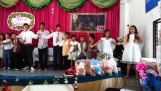 Nong Ki Thailand  City new picture : Weihnachten 2012 in der Christlichen Kirche in Nong ki Thailand