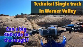 10. Can the 2019 YZ450FX Ride Technical Rocks? Warner Valley Utah
