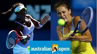 Tennis Highlights, Video - Bojana Jovanovski vs Sloane Stephens Australian Open 2013 Highlights