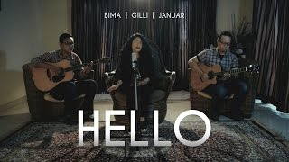 Download lagu Adele Hello Gilli Bima Januar Cover Mp3