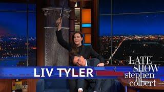 Liv Tyler Makes Stephen's 'LOTR' Dream Come True