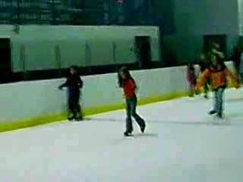 Skating at the Ice Zone