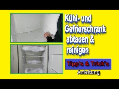 Kühlschrank & Gefrierschrank abtauen und reinigen – Tipps & Tricks wie's einfacher geht !