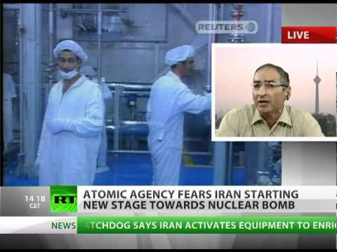 Iran reactor - The International Atomic Energy Agency has said that Iran has started the next stage toward building a nuclear bomb. The IAEA says the Islamic state has deve...