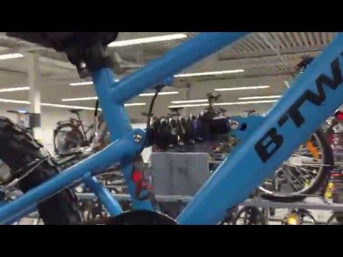 B'Twin 520 FS Racingboy Fully 20 Zoll Kinderfahrrad