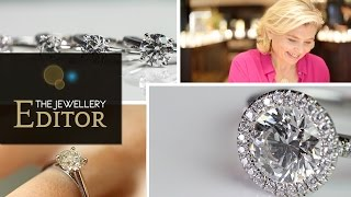 Video How to buy the biggest round diamond engagement ring for your budget MP3, 3GP, MP4, WEBM, AVI, FLV April 2018