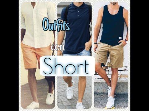 Outfits con short para HOMBRE