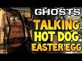 "COD Ghosts - ""TALKING HOT DOG EASTER EGG"" on Strikezone (Call of Duty Secrets)"