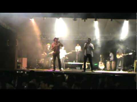 Diego e Hernanny (abertura do show da virada em Amorinópolis)