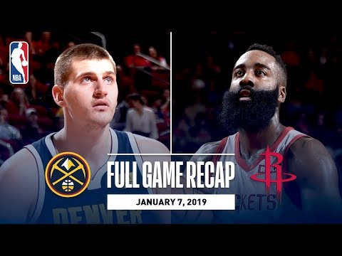 Video: Full Game Recap: Nuggets vs Rockets | Harden Drops 32 & 14