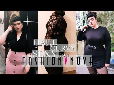 Uñas acrilicas - HAUL ROPA CURVY Y SEXY con FASHIONNOVA - Lolita Rydell