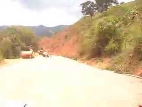 Obras do Asfalto na chegada de Alagoa