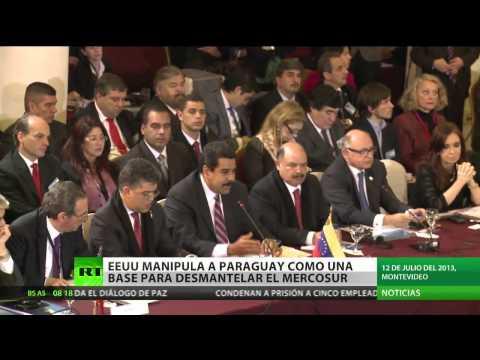 Horacio Cartes y su papel en el MERCOSUR: Welcome To Paraguay Mister Nicolás Maduro