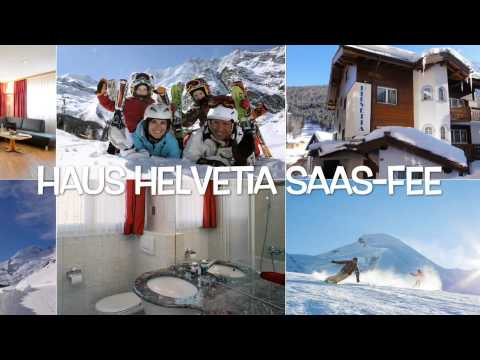 Winterfilm Ferienhaus-Apartments Helvetia Saas-Fee