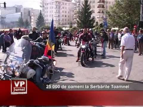 25.000 de oameni, la Serbările Toamnei