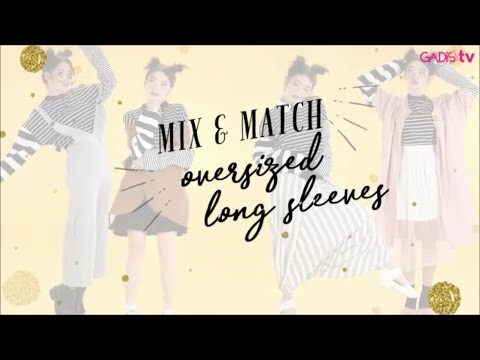 How to Mix and Match Oversized Long Slevees