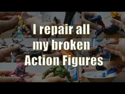 How I Repair Action Figures (The action figure repair video)