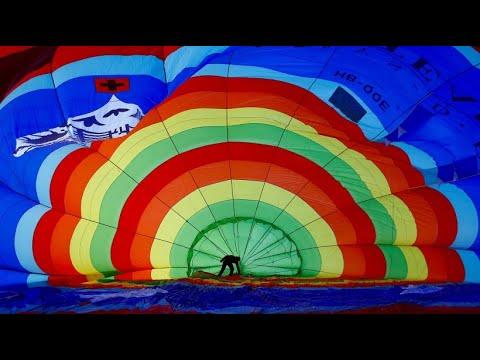 Schweiz: Festival der Heißluftballons feiert Jubiläum