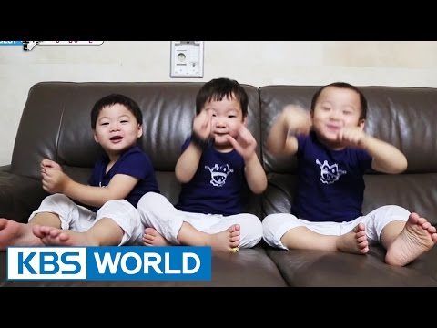 Return - The Return of Superman - The triplets' Enchanting Dances] - For more info: http://kbsworld.kbs.co.kr/programs/programs_intro.html?no=728 -------------------------------------------------...
