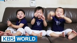 Video The Return of Superman - The triplets' Enchanting Dances MP3, 3GP, MP4, WEBM, AVI, FLV Oktober 2018