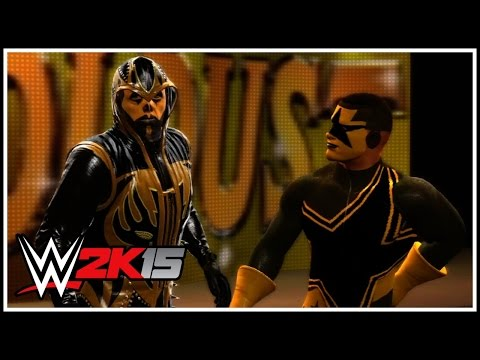 ring - Have no fear, Stardust is here! ▻▻ Join #TEAM101 Today: http://goo.gl/Wriyiu ◅◅ This is my first WWE 2K15 community creations video! And in this debut episode.. the gold ones.. The...