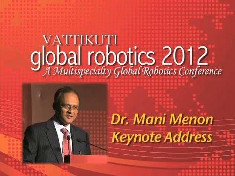 Dr. Mani Menon Keynote Address
